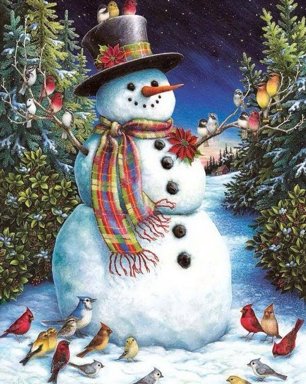 cute country snowman wallpaper - photo #20